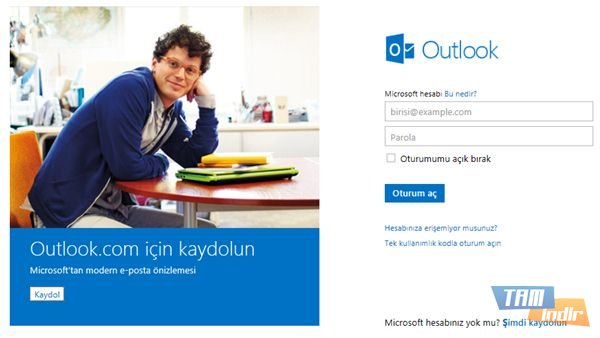 outlook giriş