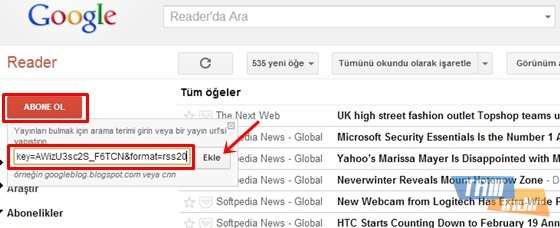 google reader-fb notifications-step 3