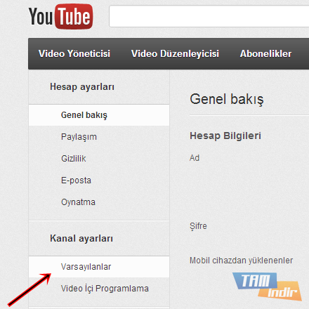 YouTube Ayarları_3