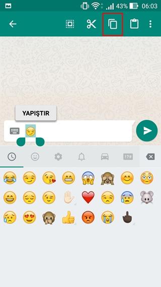 Androidde Kişilere Emoji Nasıl Eklenir Tamindir