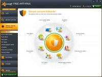 avast! Free Antivirus 7 Arayüz