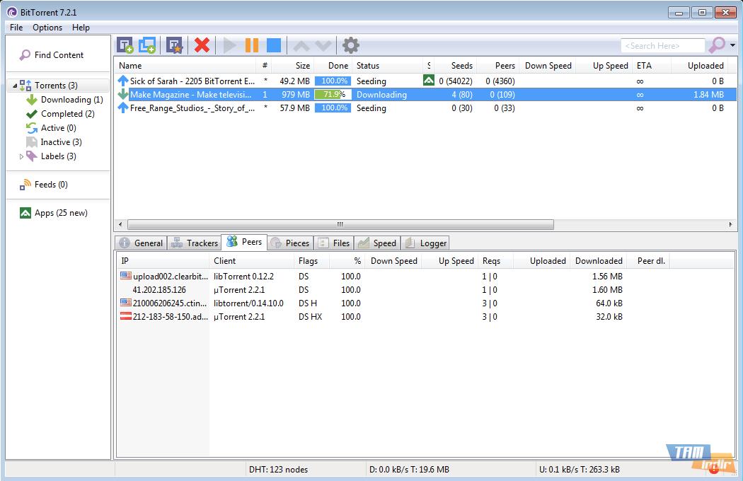 Free Download Torrent: BitTorrent Programı