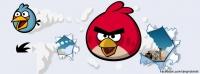 Facebook kapak Angry Birds