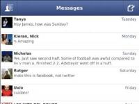Facebook Messenger BlackBerry Mesajlar