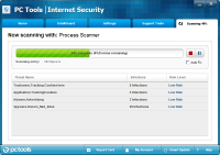 PC Tools Internet Security Tarama