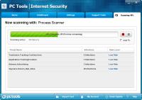 PC Tools Internet Security Tarama