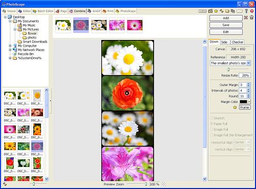 PhotoScape Resim Birleştirme 2