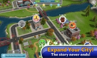 The Sims FreePlay Şehir