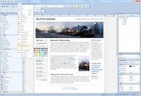 WYSIWYG Web Builder Ana Ekran