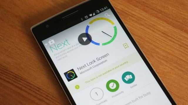 Microsoft%2C+Android+%C4%B0%C3%A7in+Next+Lock+Screen+Uygulamas%C4%B1n%C4%B1+Yay%C4%B1nlad%C4%B1