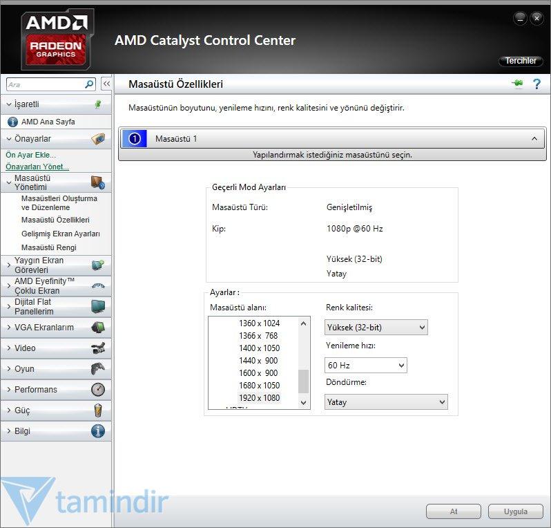 AMD Catalyst İndir - AMD Radeon HD Serisi Ekran Kartları