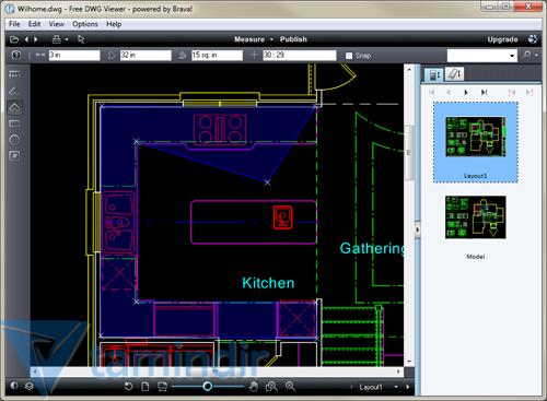 Free dwg viewer ndir dwg g r nt leme program tamindir for Online cad editor