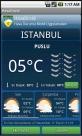 Hava durumu ekranı