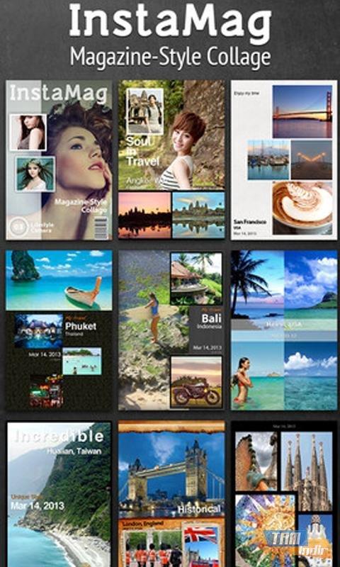 InstaMag Ekran Görüntüleri