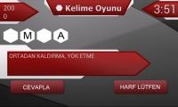 Oyun ekranı