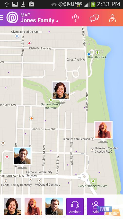 Life360 İndir - Android İçin Aile Bireyleri Takip ve Koruma