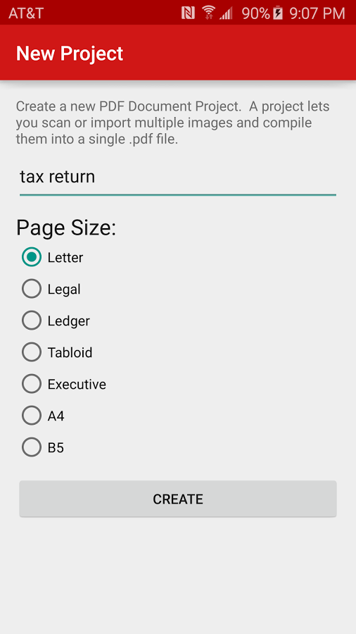 pdf document scanner for android