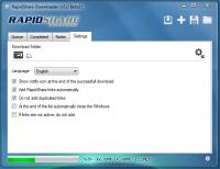 RapidShare Downloader Ekran Görüntüleri