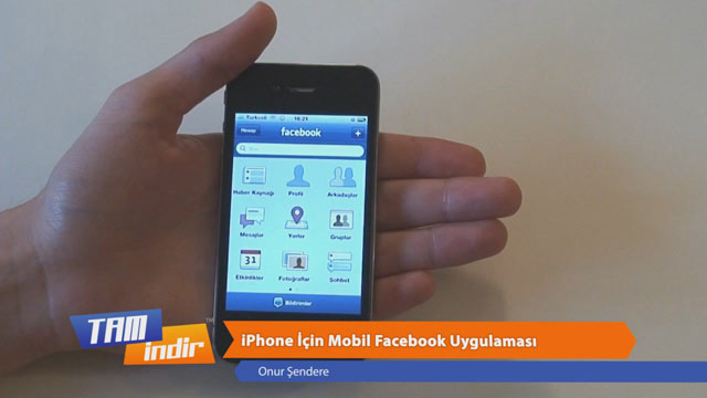 Facebook iPhone Uygulaması