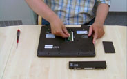 Bellek değiştirme - Toshiba R840 Serisi