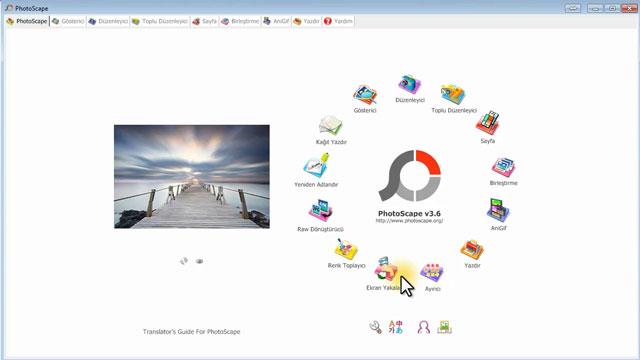 PhotoScape Kurulumu ve Program İçi Görüntüleri