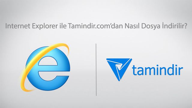 İnternet Explorer İle Tamindir'den Program indirme