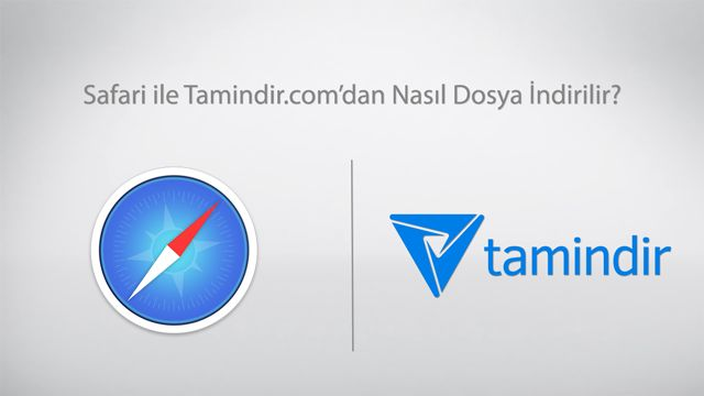 Safari İle Tamindir'den Program İndirme