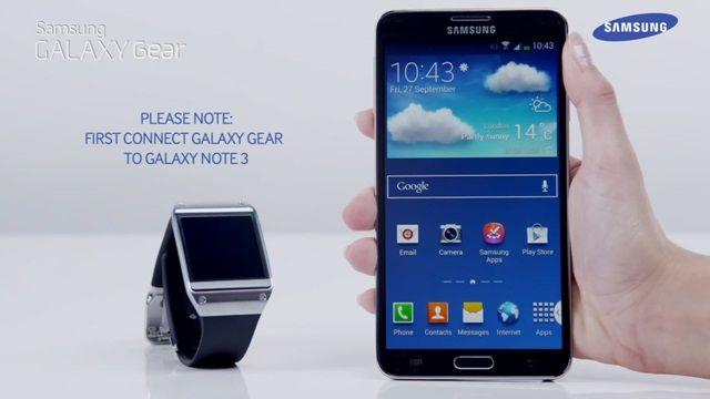 Galaxy Gear ile Kamera Uygulaması Nasıl Kullanılır