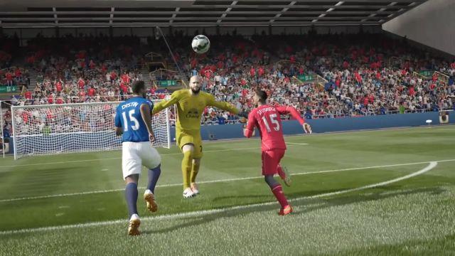 FIFA 15 - Geliştirilmiş Kaleci Kurtarışları