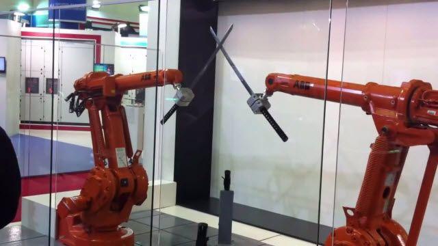ABB Robotlarının Katanayla İmtihanı!