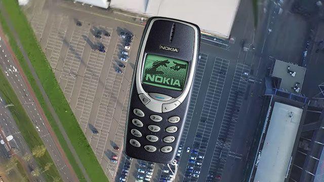 Nokia 3310'u 300 metreden Yere Bırakırsanız Ne olur?