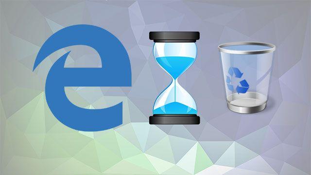 Microsoft Edge'de Geçmiş Nasıl Silinir?