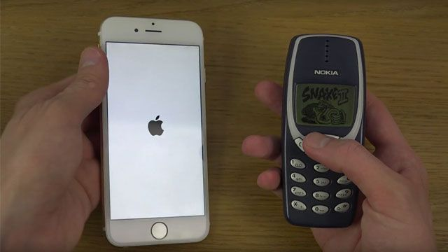 iPhone 6 ve Nokia 3310 Hız Testi