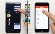 Galaxy Note 7 ve iPhone 6S Hız Karşılaştırması