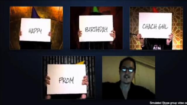 Skype ile Söyle: En Güzel Doğum Günü Anların!
