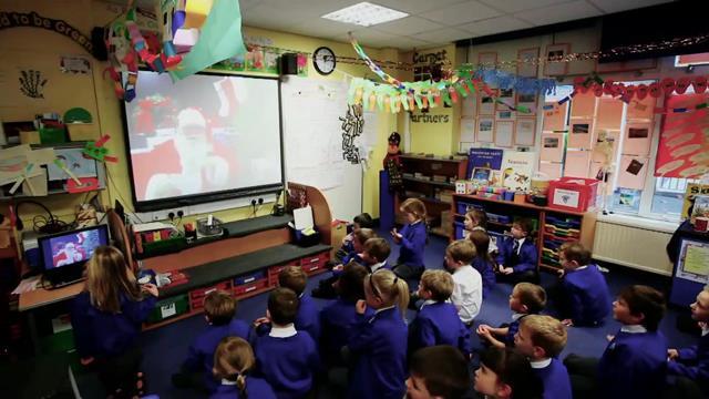 Noel Baba, Skype İle Tüm Dünya'yı Geziyor