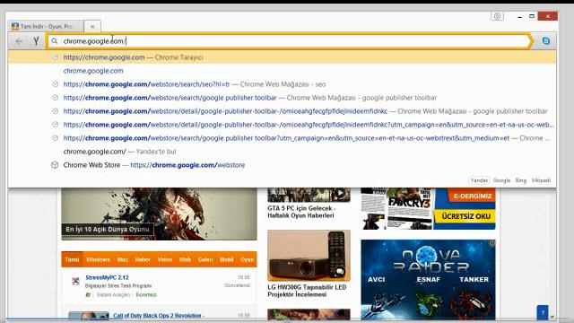 Yandex Browser'da Chrome Eklentileri Nasıl Kurulur