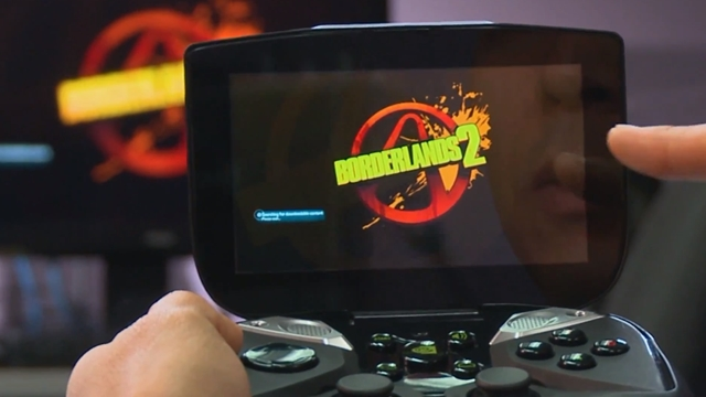 Nvidia Shield Borderlands 2 Gösterimi