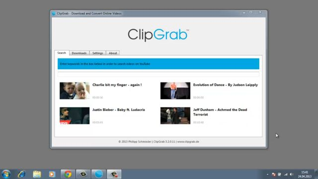 ClipGrab ile YouTube Video İndirme