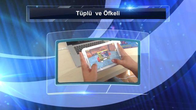Türk Yapımı Tüplü ve Öfkeli Oyununun Tanıtımı